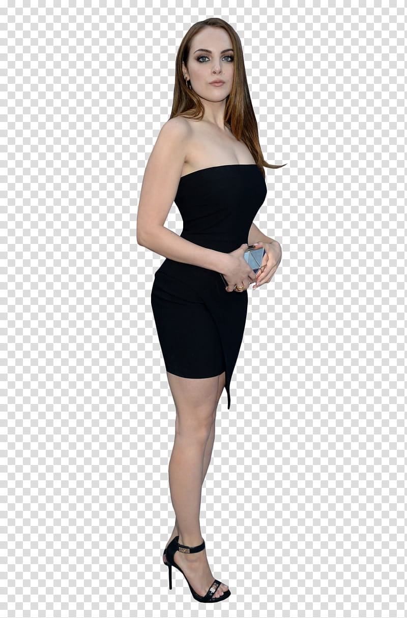 Elizabeth Gillies, transparent background PNG clipart.