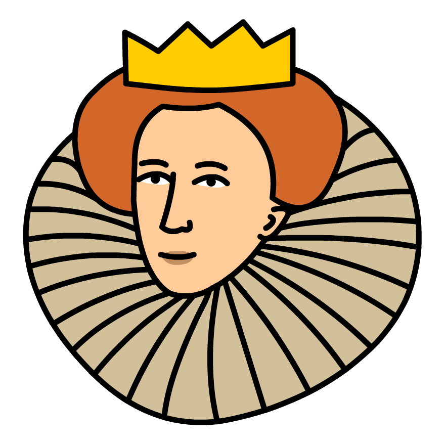 Elizabeth i clipart.