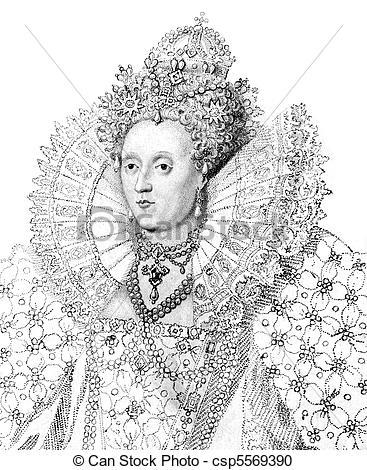 Stock Photography of Elizabeth I (1533.