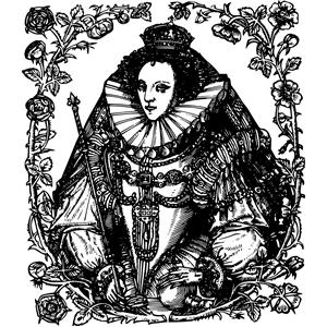 Queen Elizabeth I clipart, cliparts of Queen Elizabeth I free.