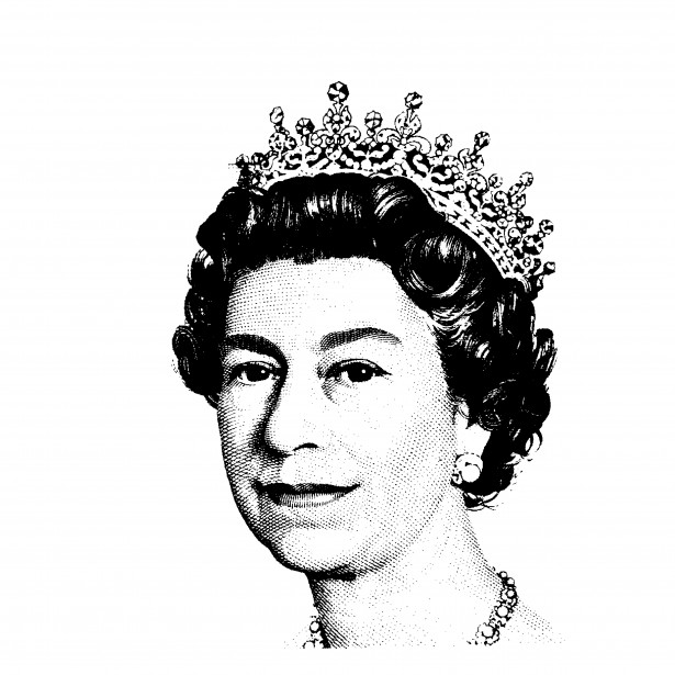 Queen Elizabeth II Clipart Free Stock Photo.