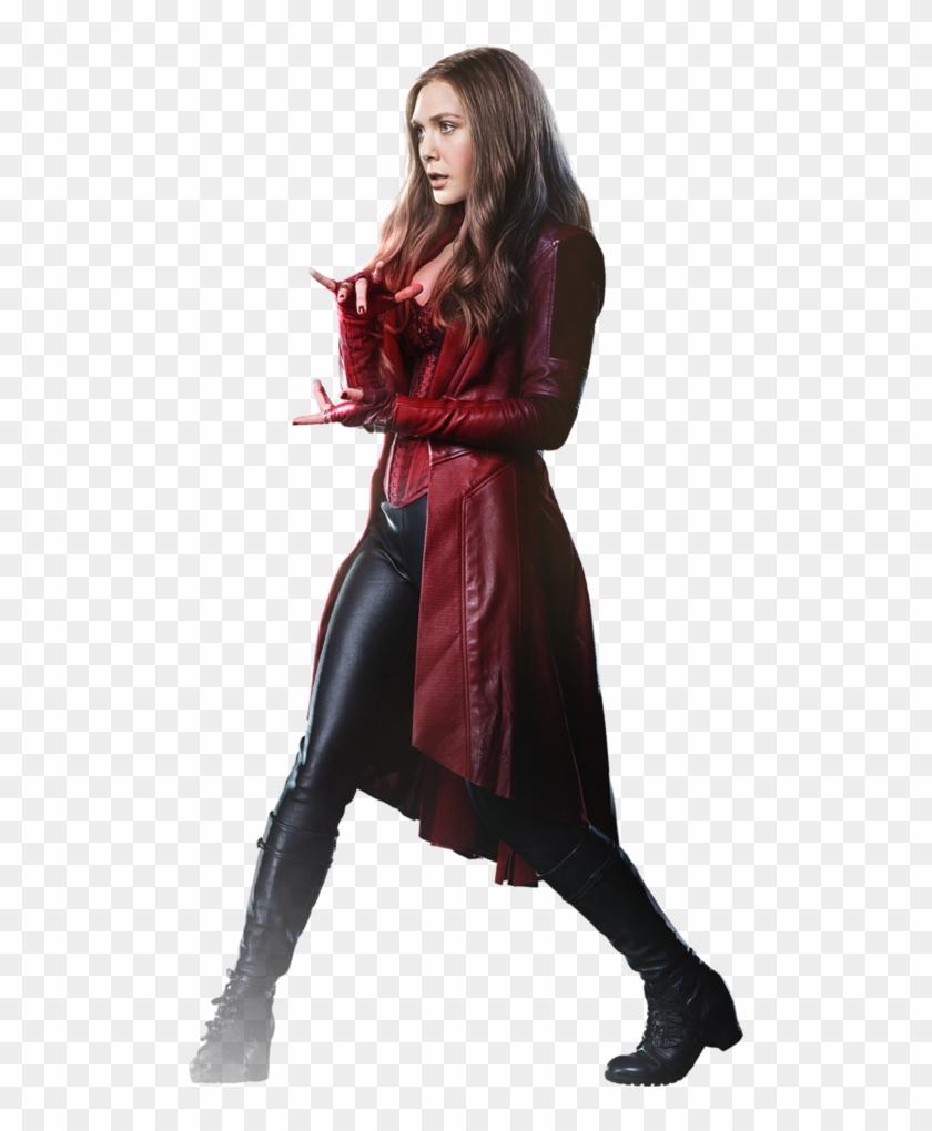 Elizabeth Olsen Scarlet Witch, HD Png Download.