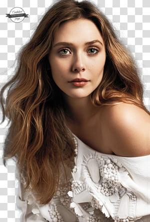 Elizabeth Olsen transparent background PNG clipart.