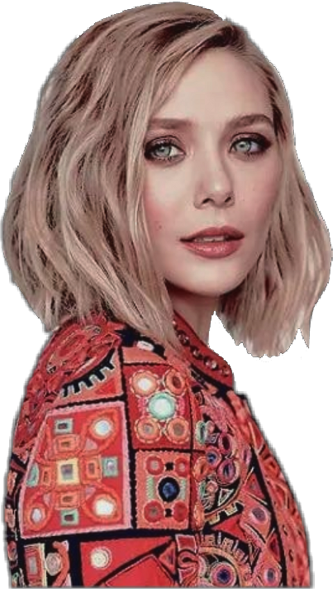 Download Elizabeth Olsen PNG Image with No Background.