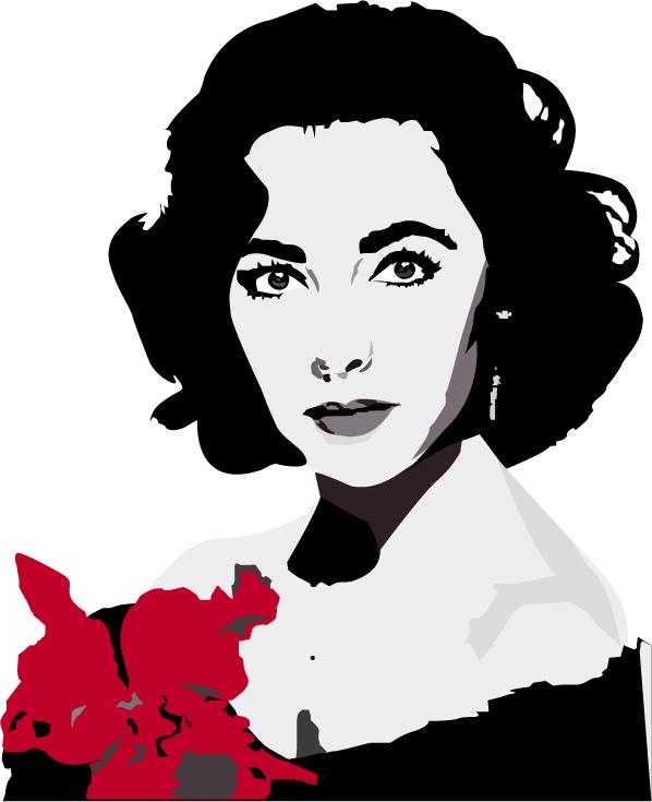 Elizabeth Taylor by felina.