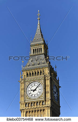 """Pictures of """"Elizabeth Tower or Big Ben, Palace of Westminster."""