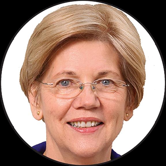 Elizabeth Warren Button.