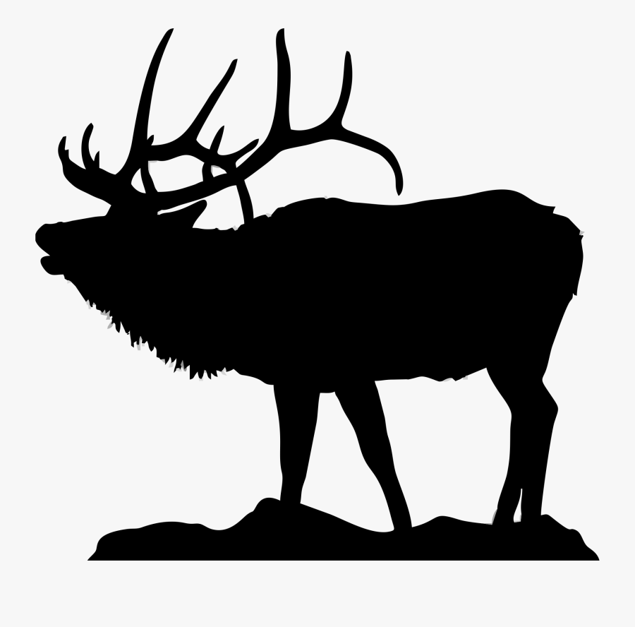 Elk Black And White Clipart Amp Elk Black And White.