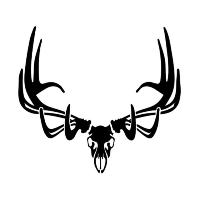 Elk Skull Drawing.