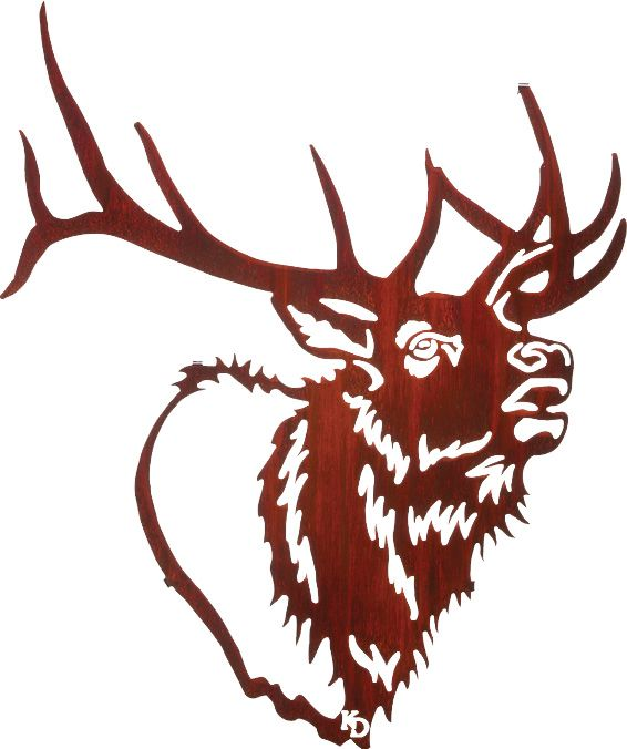 Elk Head Clipart.