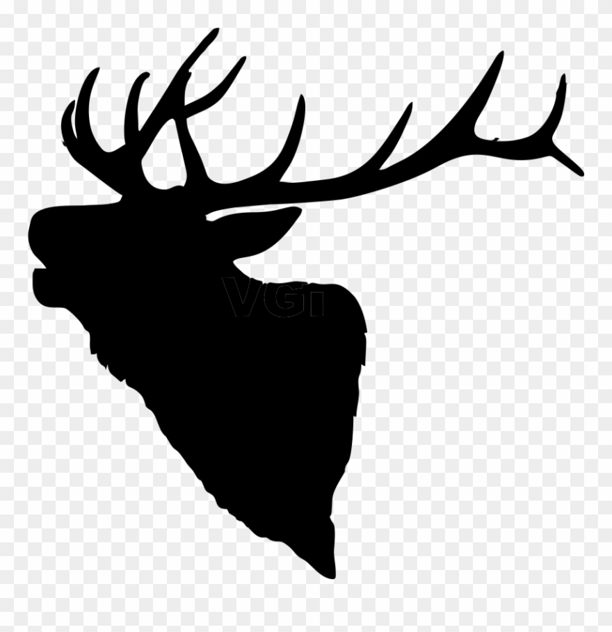 Graphic Library Library Bull Elk Clipart.