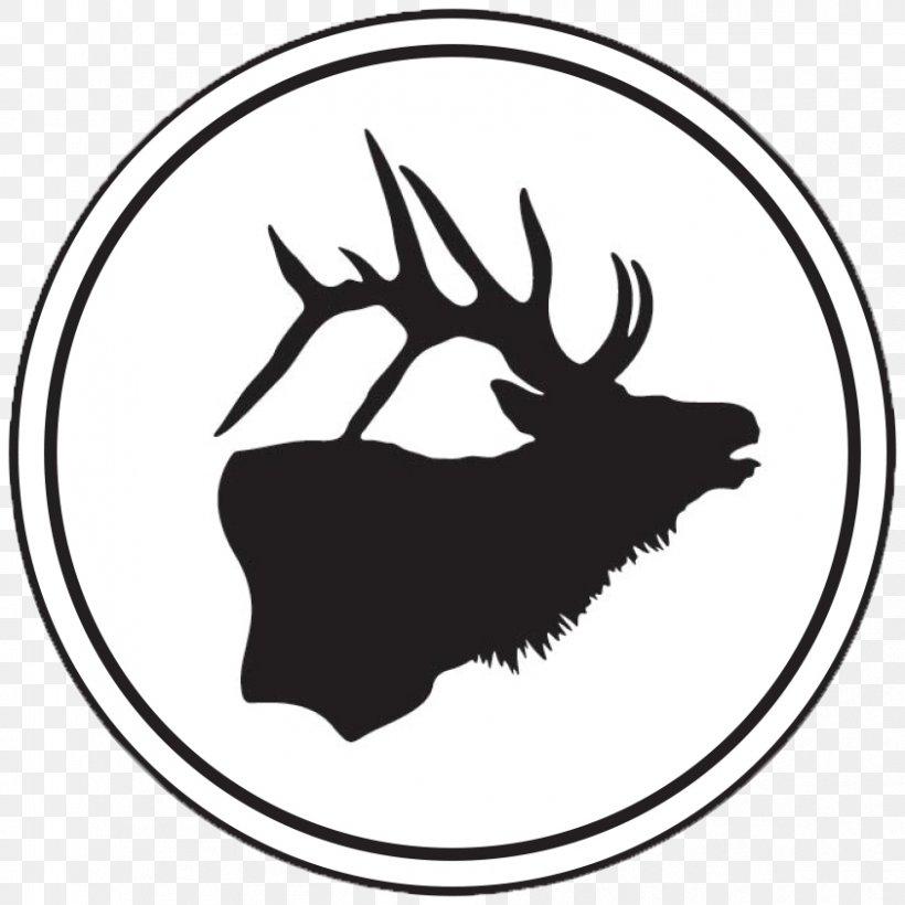 Clip Art Elk Silhouette Free Content Deer, PNG, 843x843px.