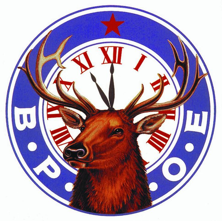 Elks Lodge Emblem Art BPOE.