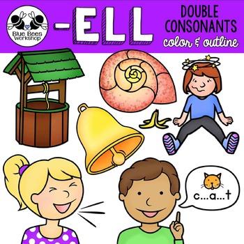 ELL Word Family Clip Art.