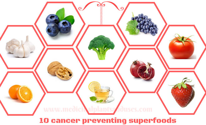 10 Cancer Preventing Super Foods in Your Kitchen.