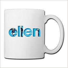 Loreis The Ellen DeGeneres Logo Mugs.: 6902341978984: Amazon.