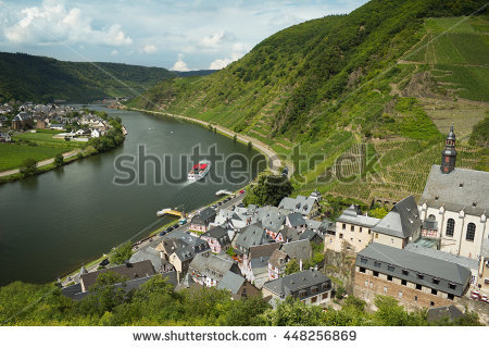 Moselle Valley Stock Photos, Royalty.