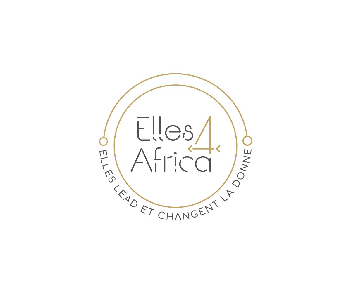 Elegant, Modern Logo Design for Elles4Africa (Logo design.