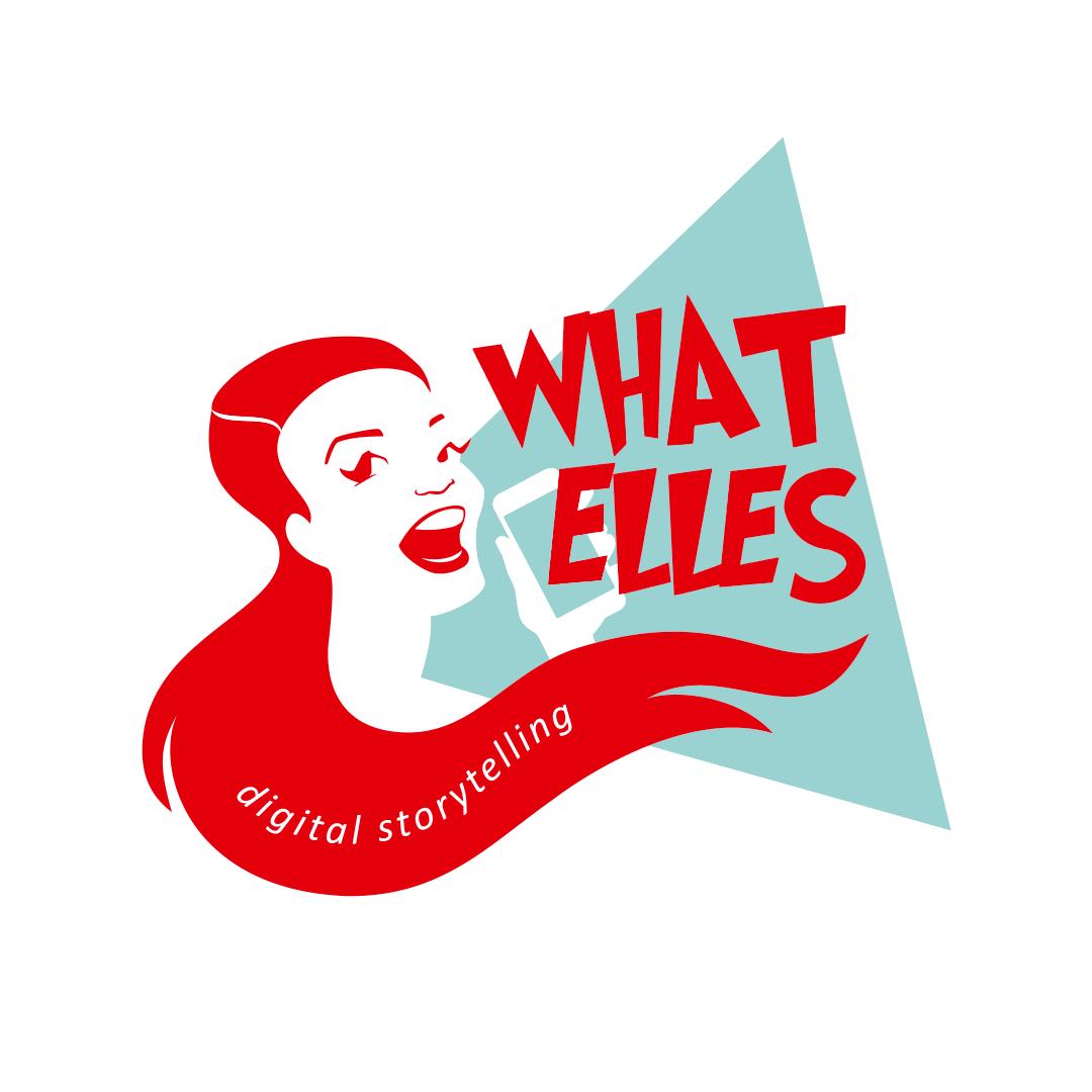 Logo What Elles by Hilda Groenesteyn / studioHILLE © 2018.