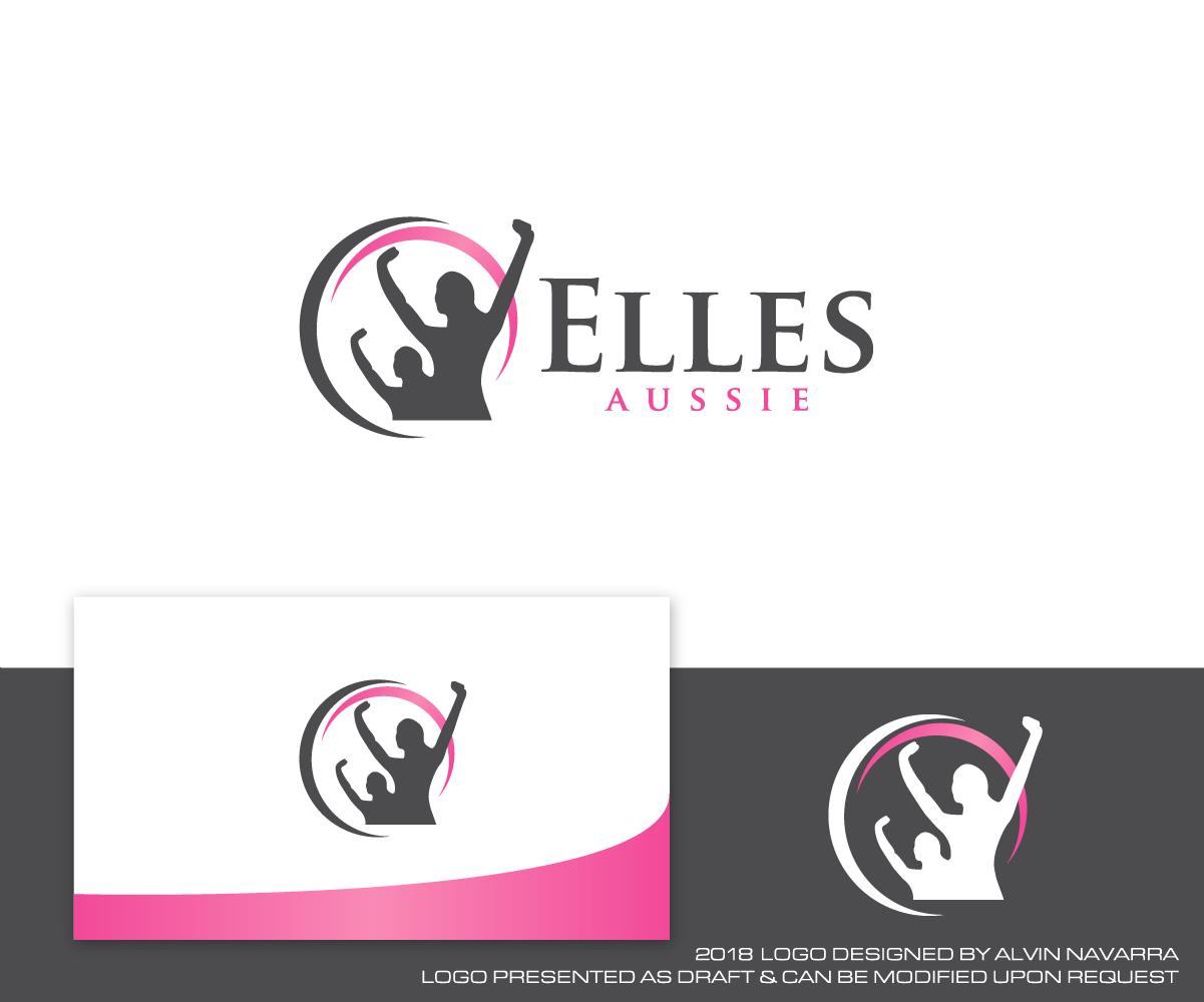 Elegant, Modern, Business Service Logo Design for Elles.