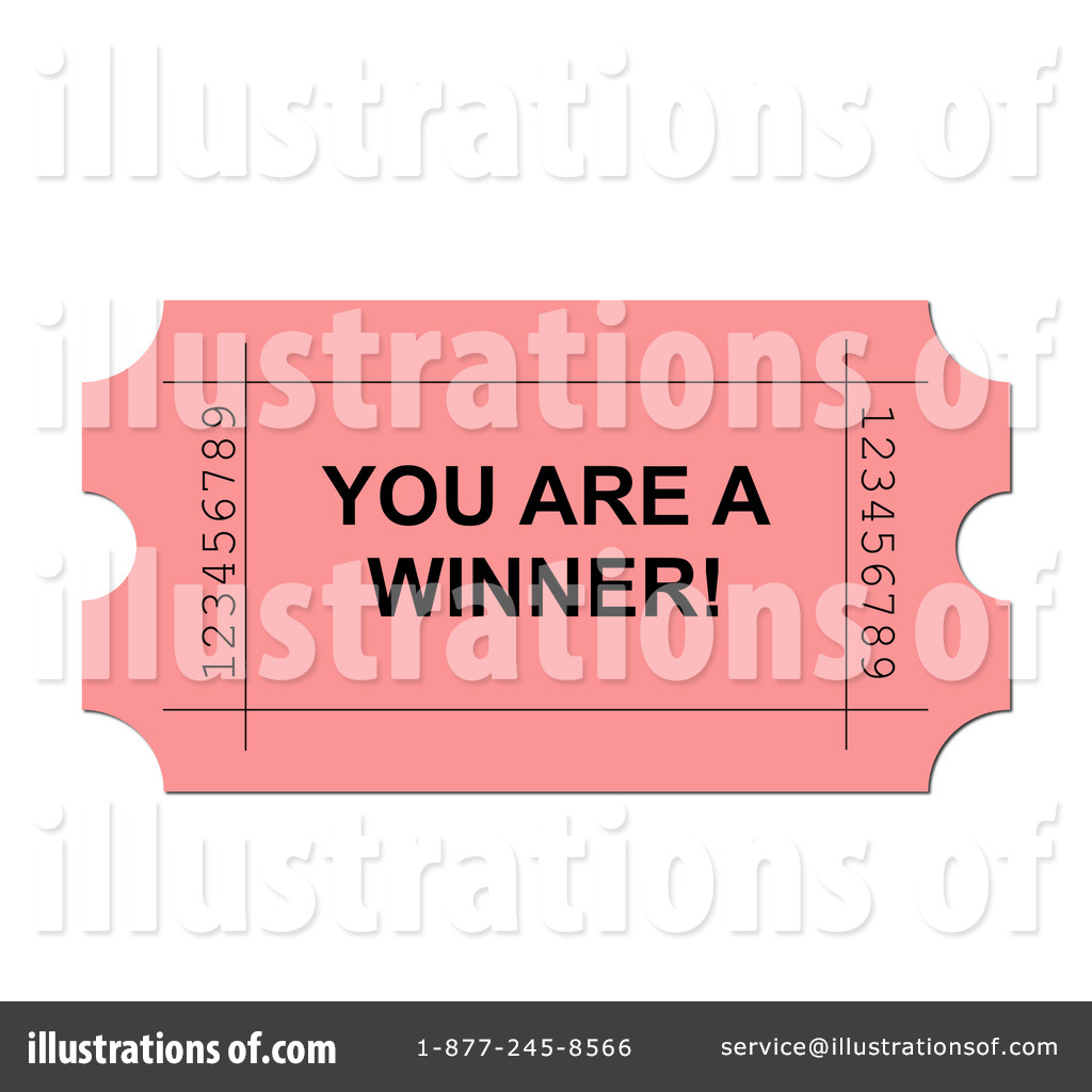 Blank Lottery Ticket Clipart.