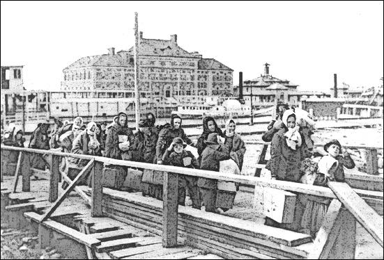 Ellis Island 1902.