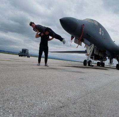 Frog Fitness visits Ellsworth Air Force Base.