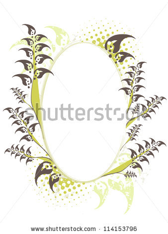 Elliptical Floral Stock Vectors & Vector Clip Art.