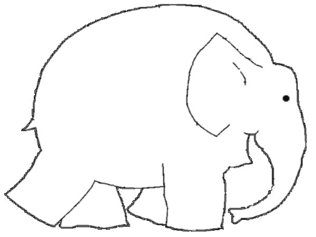 Free Elmer Elephant Coloring Page, Download Free Clip Art.