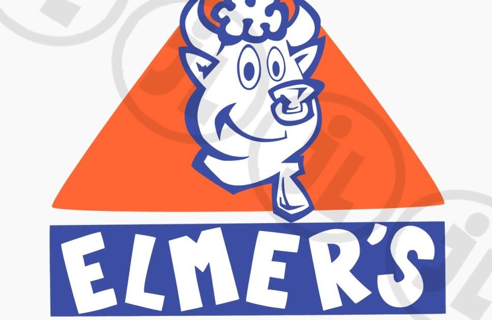 Johnny Lopes: Redesigned Elmers Logo.