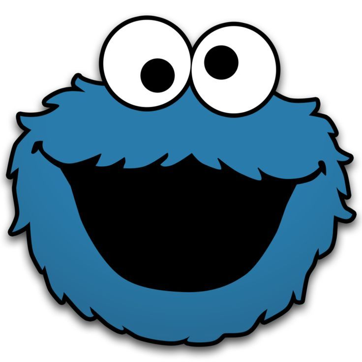 Cookie Monster Clip Art Printable.
