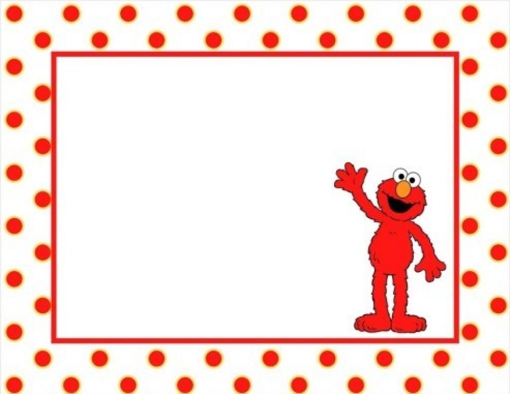 Elmo Frame Clipart.