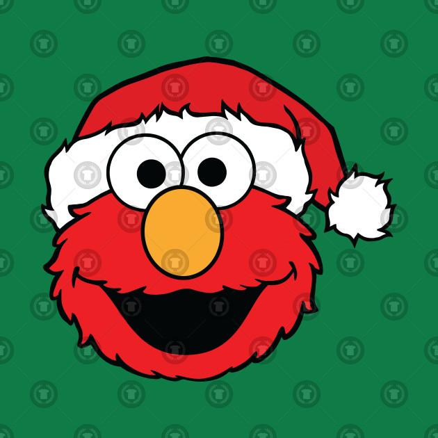 Christmas Elmo.