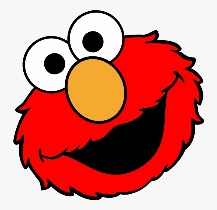 Elmo Face Clipart Transparent Png.
