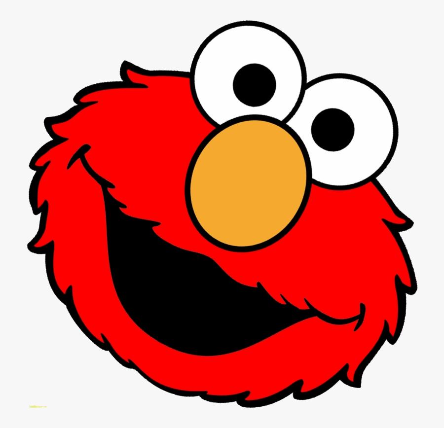 Elmo Sesame Street Face Clipart Transparent Png.