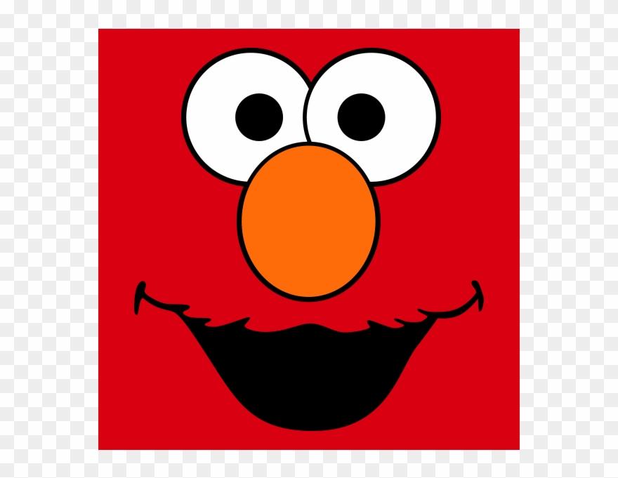 Face Clipart Elmo.