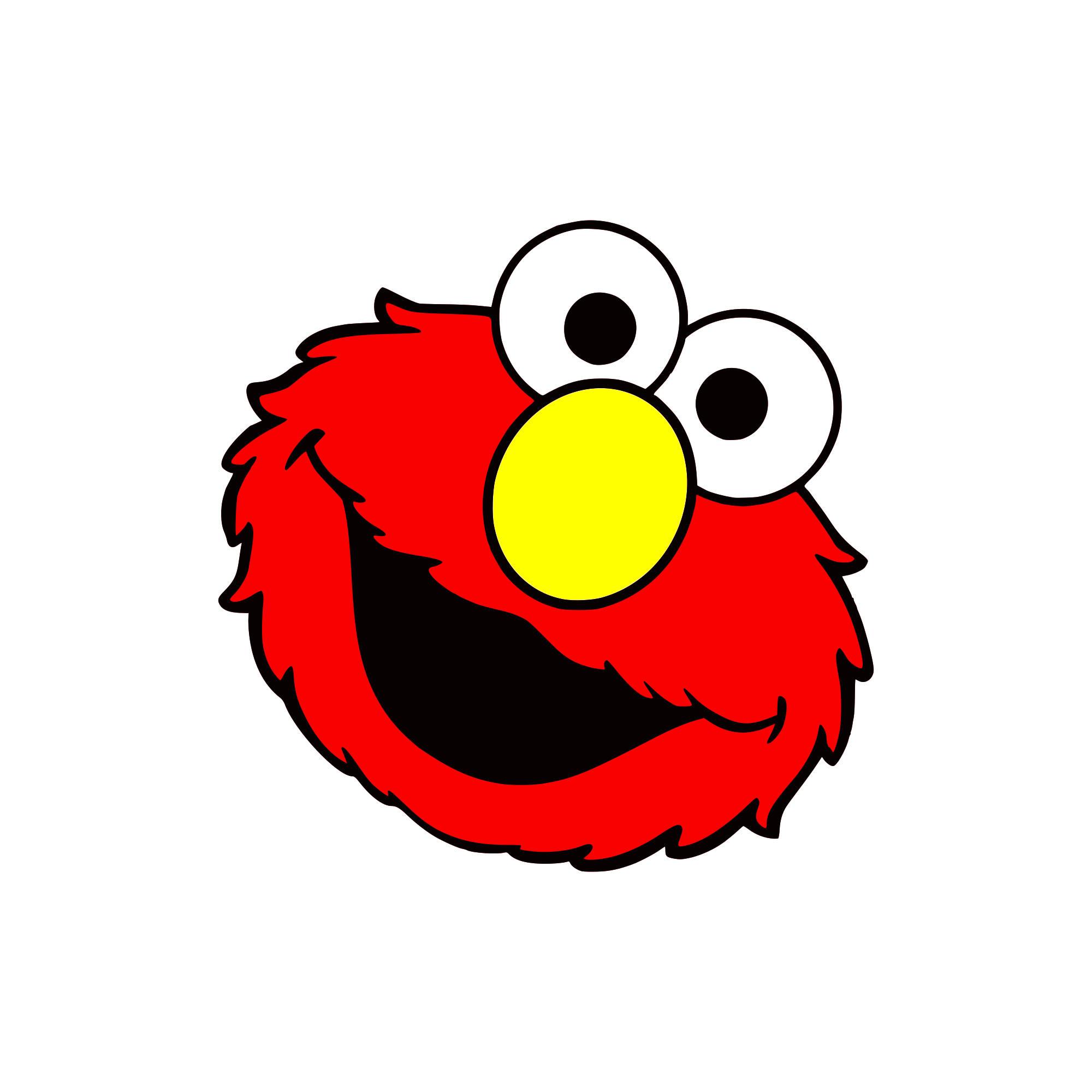 Elmo Face Clipart at GetDrawings.com.