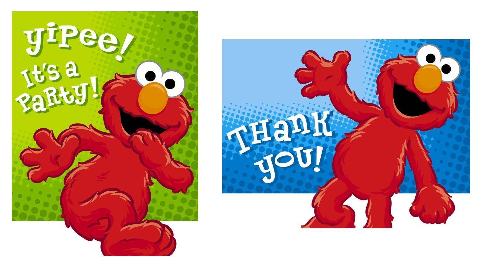 Elmo Birthday Invitations Free Clip Art free image.
