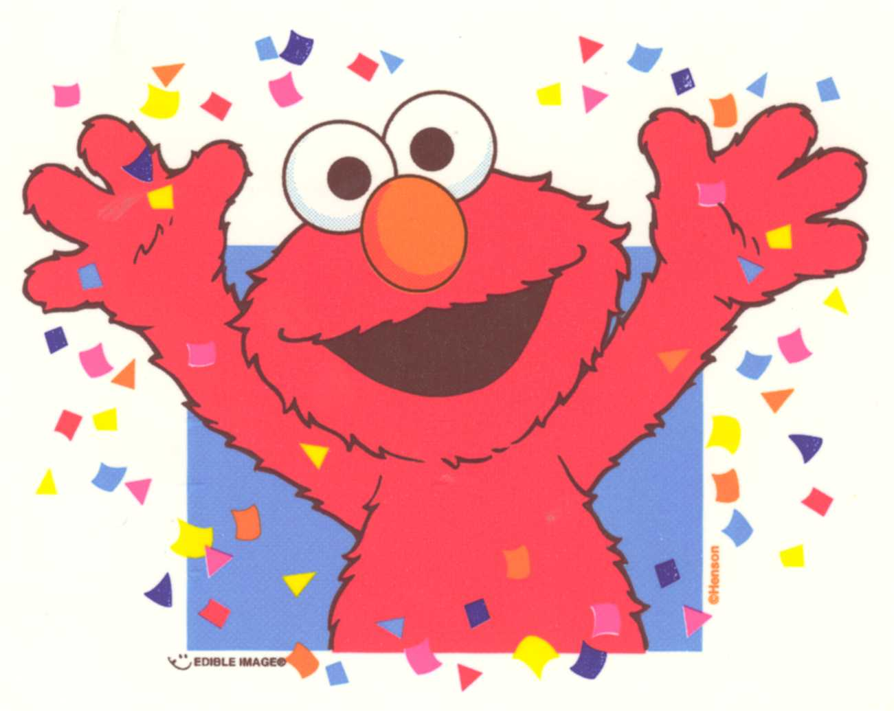 Elmo Birthday Party Ideas For A Tickle Me clipart free image.