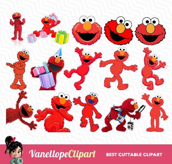 Elmo, Elmo PNG, Sesame Street, Elmo Clip Art, Elmo Birthday, Elmo Files for  Baby, Baby Shower, 72 DPI, Elmo Party, VC.