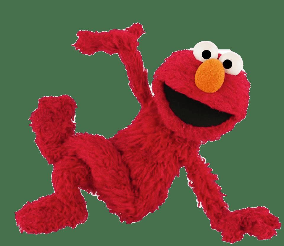 Sesame Street Elmo Sitting transparent PNG.