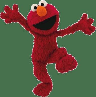 Sesame Street Elmo transparent PNG.
