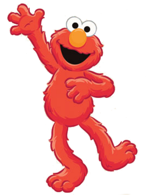 Free Elmo\'s World PSD Vector Graphic.