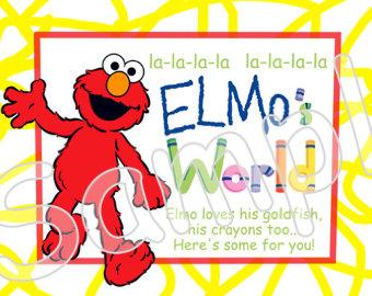 Sesame Street Elmo\'s World.