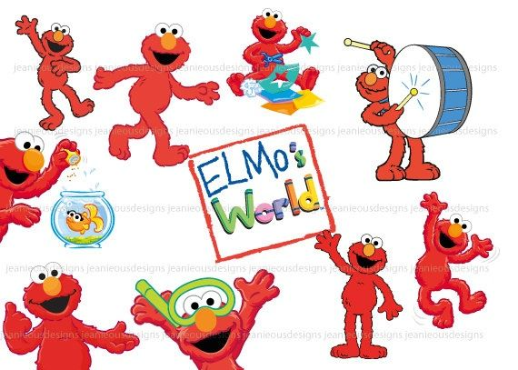 Elmo\'s World.
