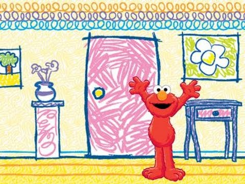 Elmo\'s World Coloring Pages.