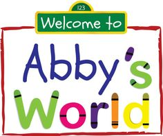 Crayon font for Elmo's world.