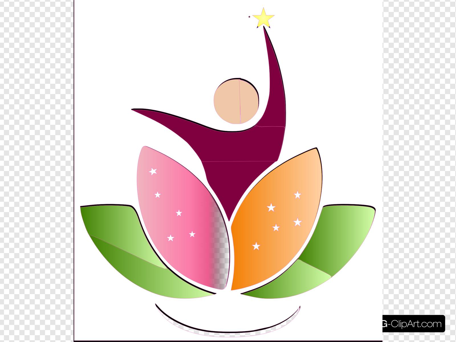 Logo Lotus Elo Clip art, Icon and SVG.
