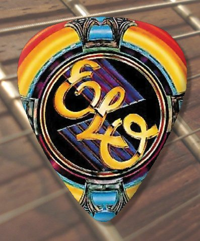 ELO Logo Premium Guitar Pick x 5 Medium.