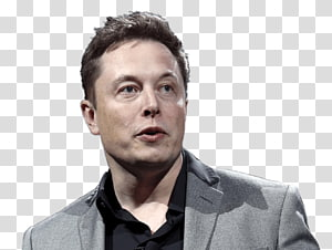 Elon Musk transparent background PNG cliparts free download.